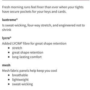 lululemon athletica Pants - NWOT Lululemon Invigorate 7/8 Tight Sz 8